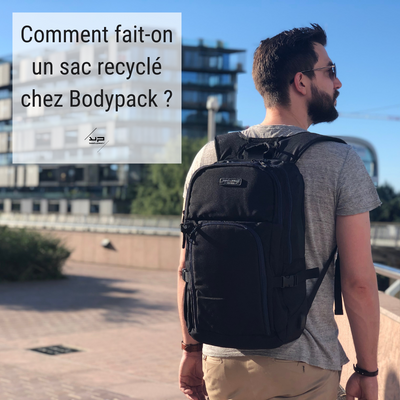 What is the RPET recycled bodypack bag