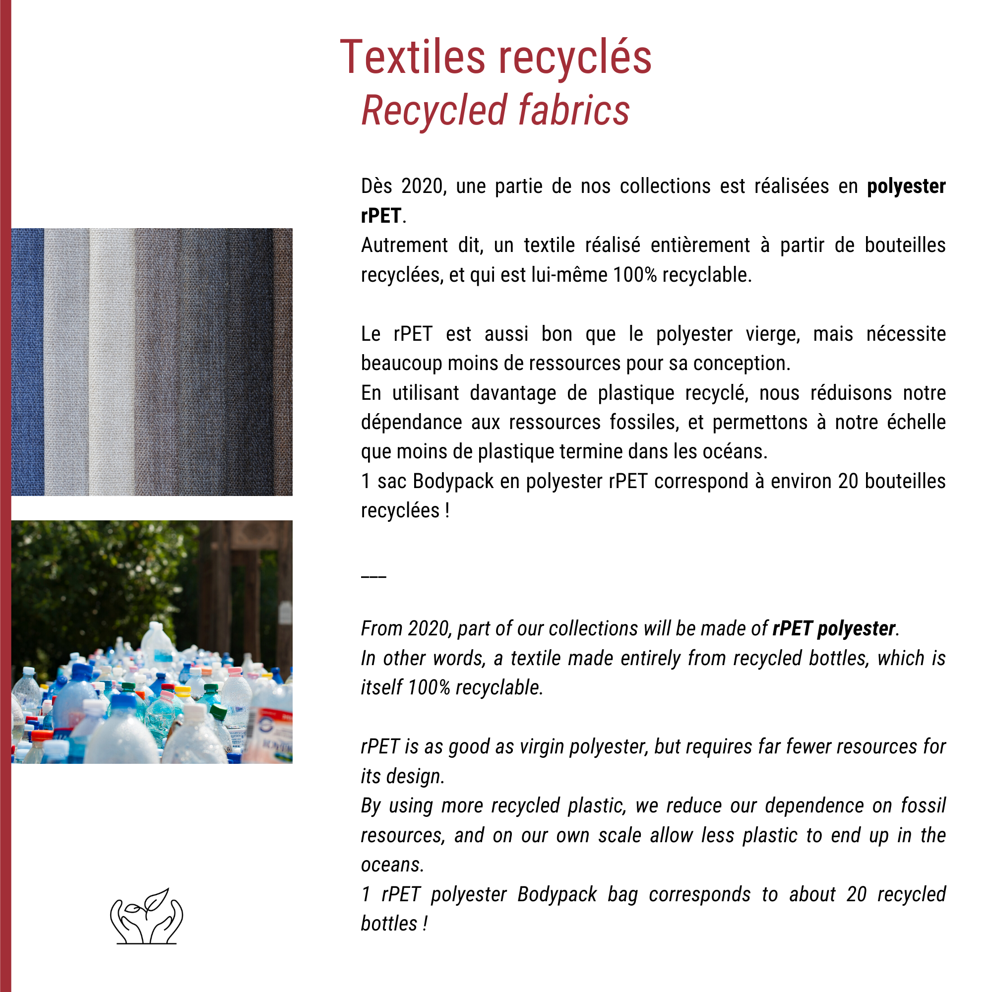 Use of Recycled Textile