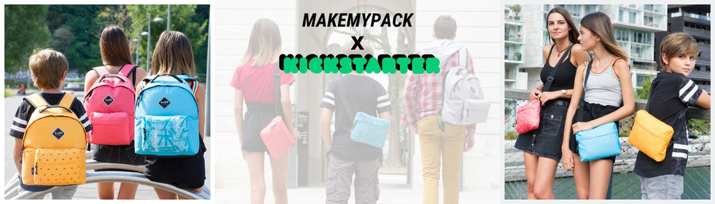 Make My Pack : le sac à dos 3 en 1 | Bodypack | Kickstarter