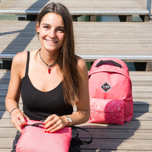 Zaino Makemypack customizable Coral 3 in 1, 2 casi + 1 libero bandouilière - Bodypack