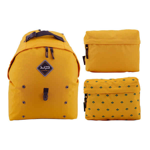 Rucksack Makemypack Tournesol anpassbar 3 in 1, 2 gratis (1 Billion) Gratis-Banner