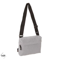 Sac à dos MMP 2 comp Ordi gris chiné recyclé + 2 pocket+Strap