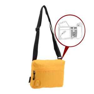 Pochette USB MAKE MY PACK Jaune - Bodypack