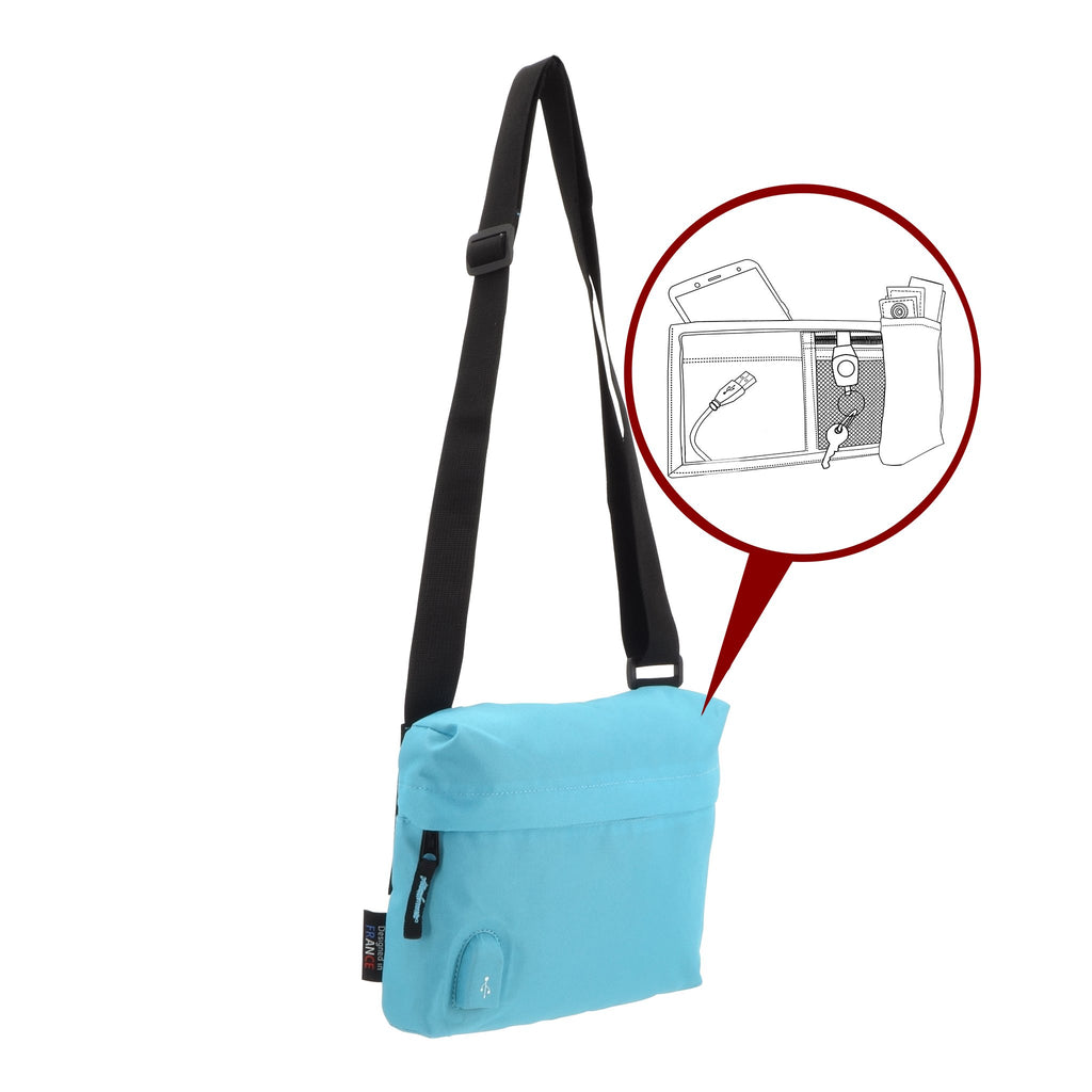 Pochette USB MAKE MY PACK Bleu Ciel - Bodypack