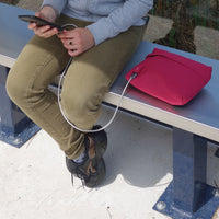 Pochette USB MAKE MY PACK Bordeaux - Bodypack