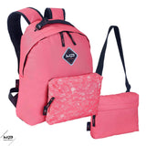 Backpack Makemypack customizable Coral 3 in 1, 2 cases + 1 bandouilière free - Bodypack