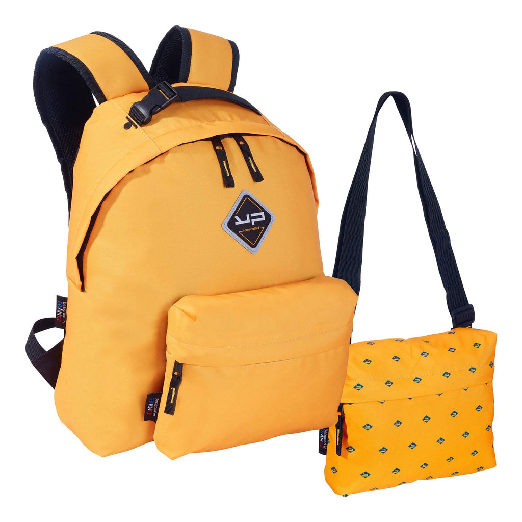 Makemypack Sunflower Backpack Customizable 3 in 1, 2 pockets - 1 free bandouilière - Bodypack