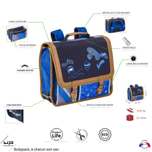 Cartable 41 cm Racing Marathon - Bodypack