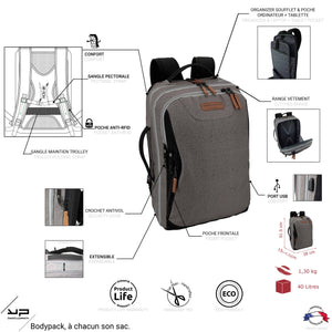 Sac à dos Business Travel - Bodypack