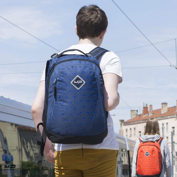 Backpack di potenza blu retrattile