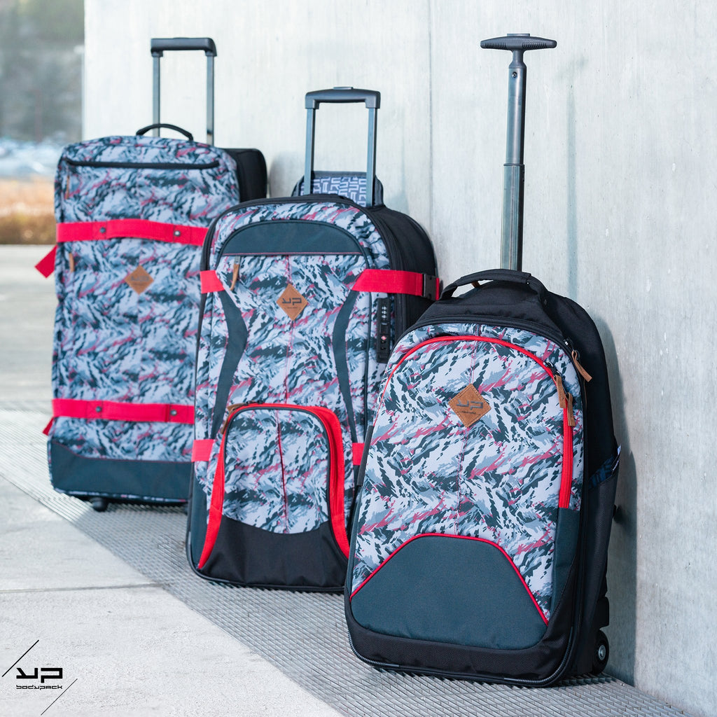 Camo Soft Cabin Trolley Backpack - Bodypack