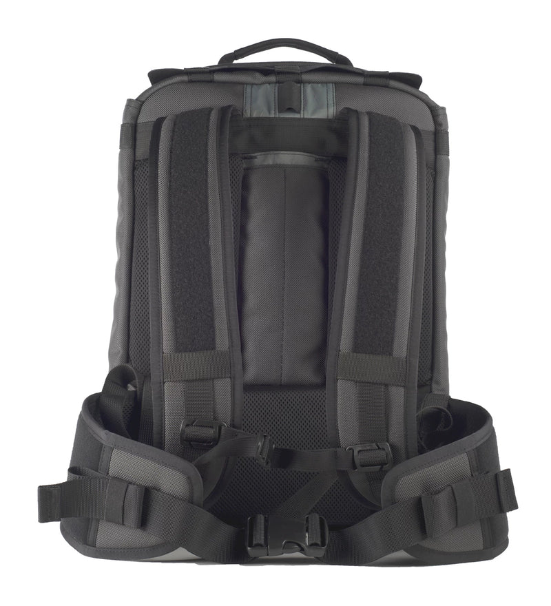 Devcore Gear's plate carrier tactical backpack in Wolf Grey