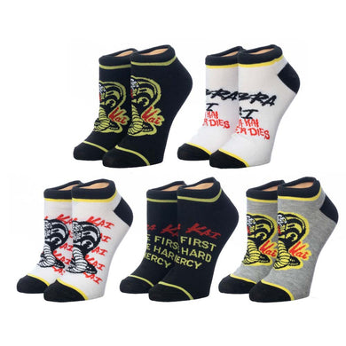 Cobra Kai Ankle Socks 5pk
