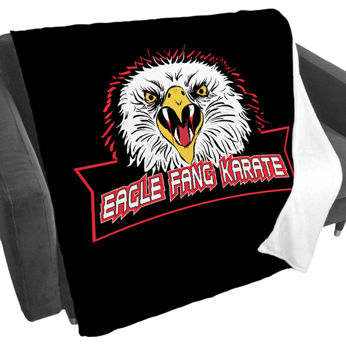 Eagle Fang Karate Fleece Blanket from Cobra Kai