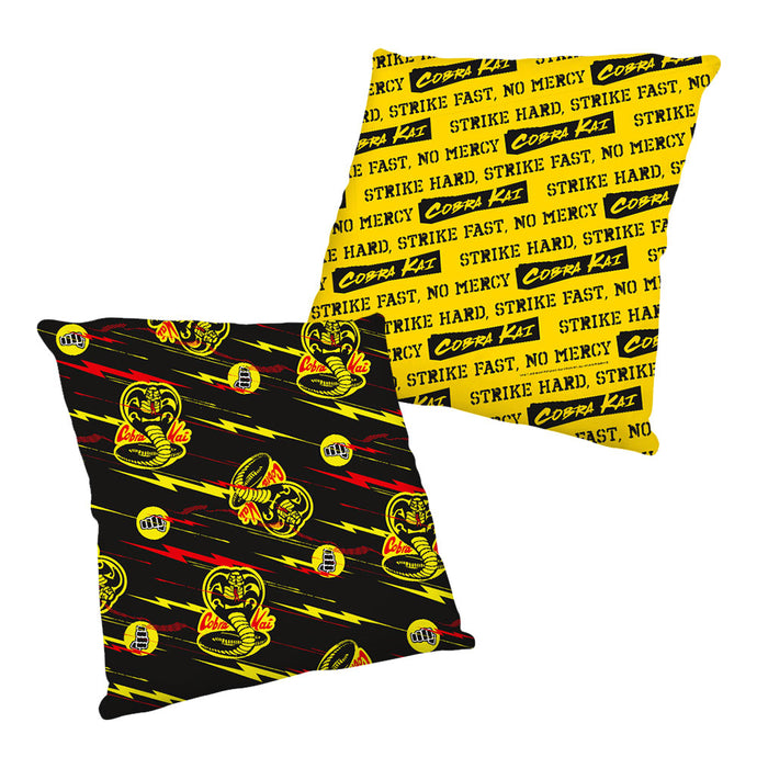 Cobra Kai Tossed Pattern Pillow