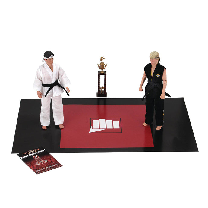 Karate Kid 1984 8in Retro Action Figures Tournament 2pk