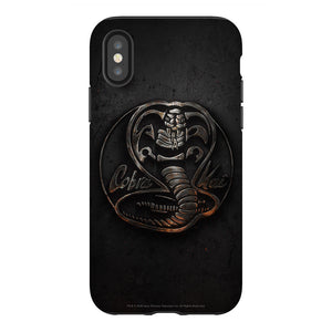 Cobra Kai Metallic Logo Phone Case