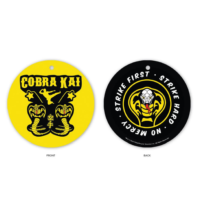 Cobra Kai Strike First Holiday Ornament
