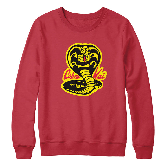 Cobra Kai Logo Red Crewneck