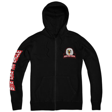 Eagle Fang Karate Black Zip Up Hoodie