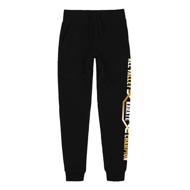 All Valley Karate Championship Black Joggers from Cobra Kai