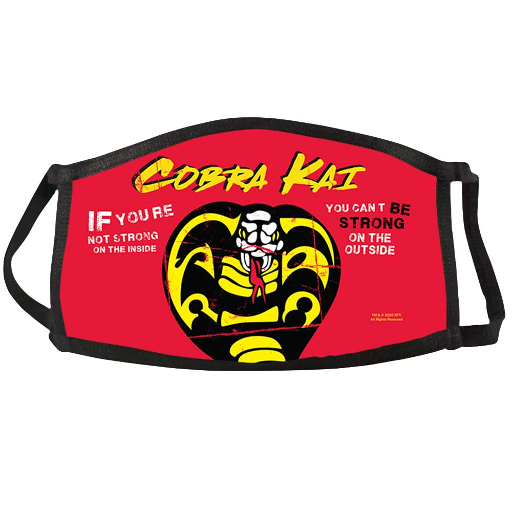 Cobra Kai Be Strong Face Mask
