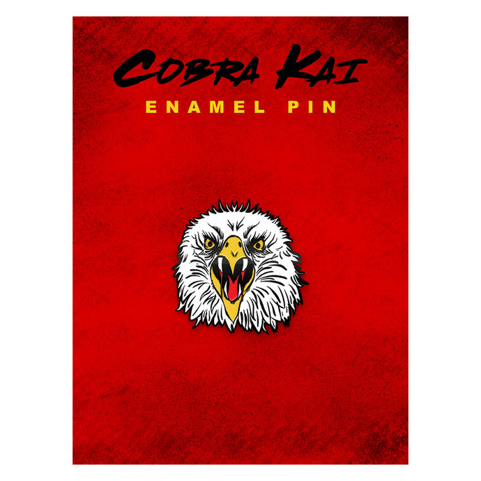 Eagle Fang Karate Enamel Pin