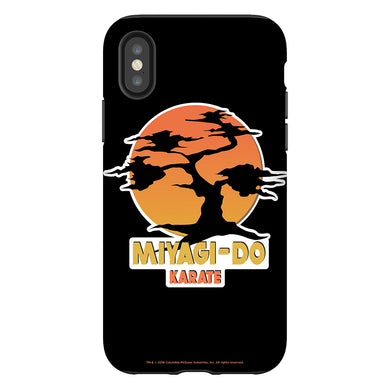 Karate Kid Miyagi-Do Logo Black Phone Case