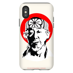 Karate Kid Miyagi Face Phone Case