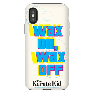 Karate Kid Wax On, Wax Off Phone Case