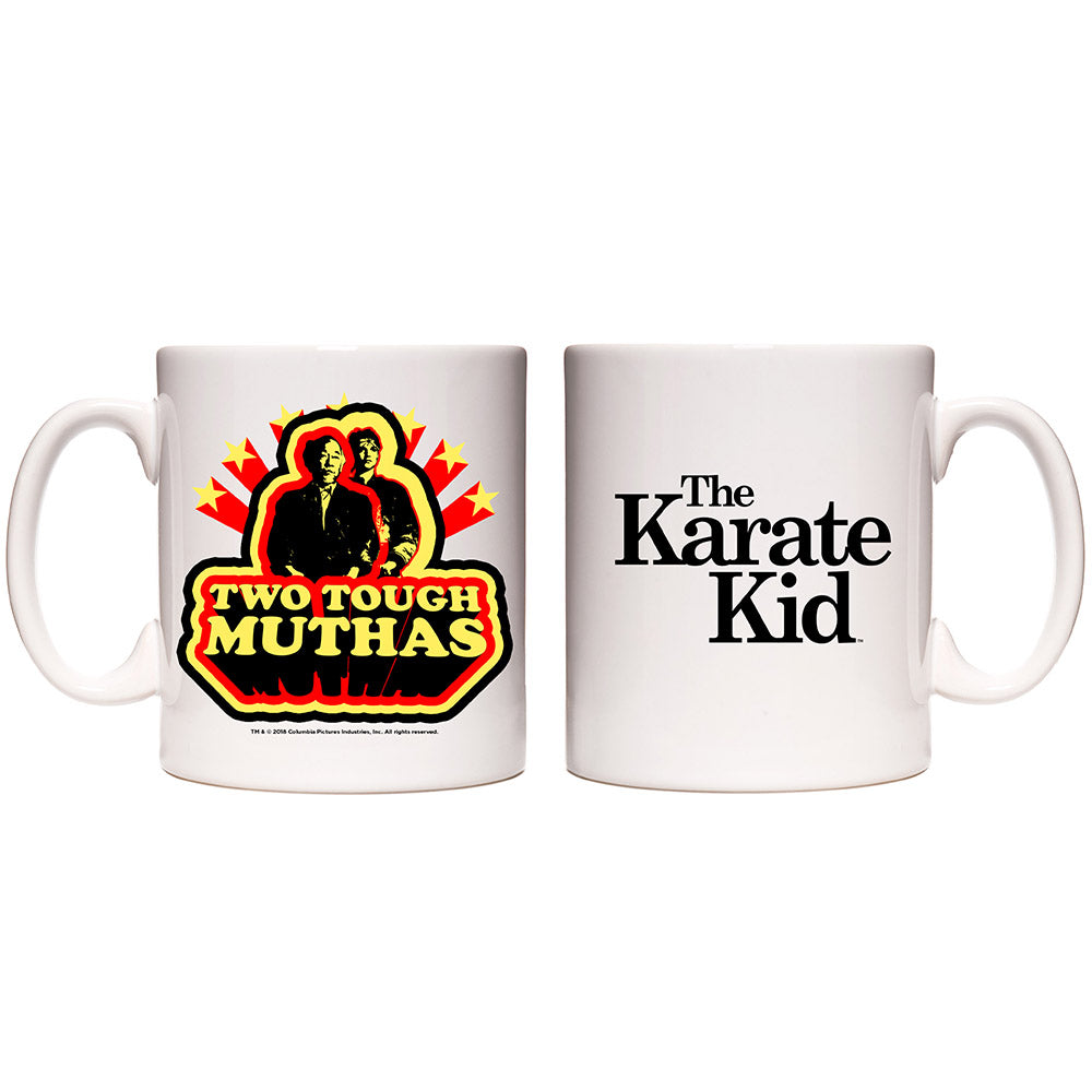 Karate Kid Two Tough Muthas White Mug