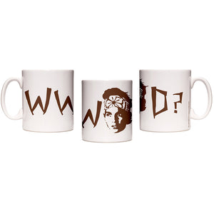 Karate Kid What Would Daniel Do White Mug