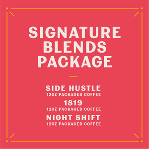 Signature Blends Care Package (Whole Bean)