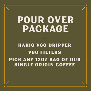 Pour Over Care Package (Whole Bean)
