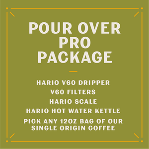 Pour Over Pro Care Package (Whole Bean)