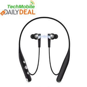 Neckband Ear Buds w/mic - Bluetooth - HD - Sweatproof - noise cancelling