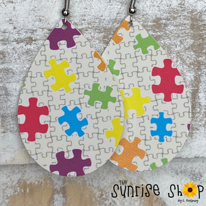 Multi-Color Puzzle Pieces