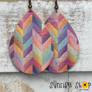 Rainbow Chevron - Cork