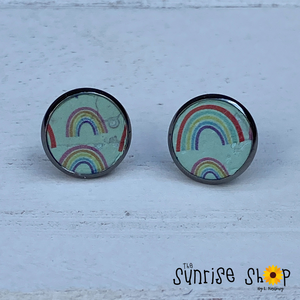 Rainbows Cork Studs