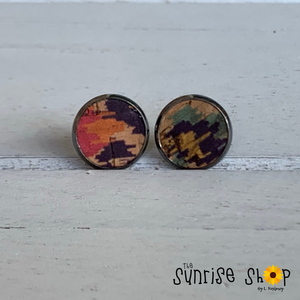 Strokes of Brilliance Cork Studs