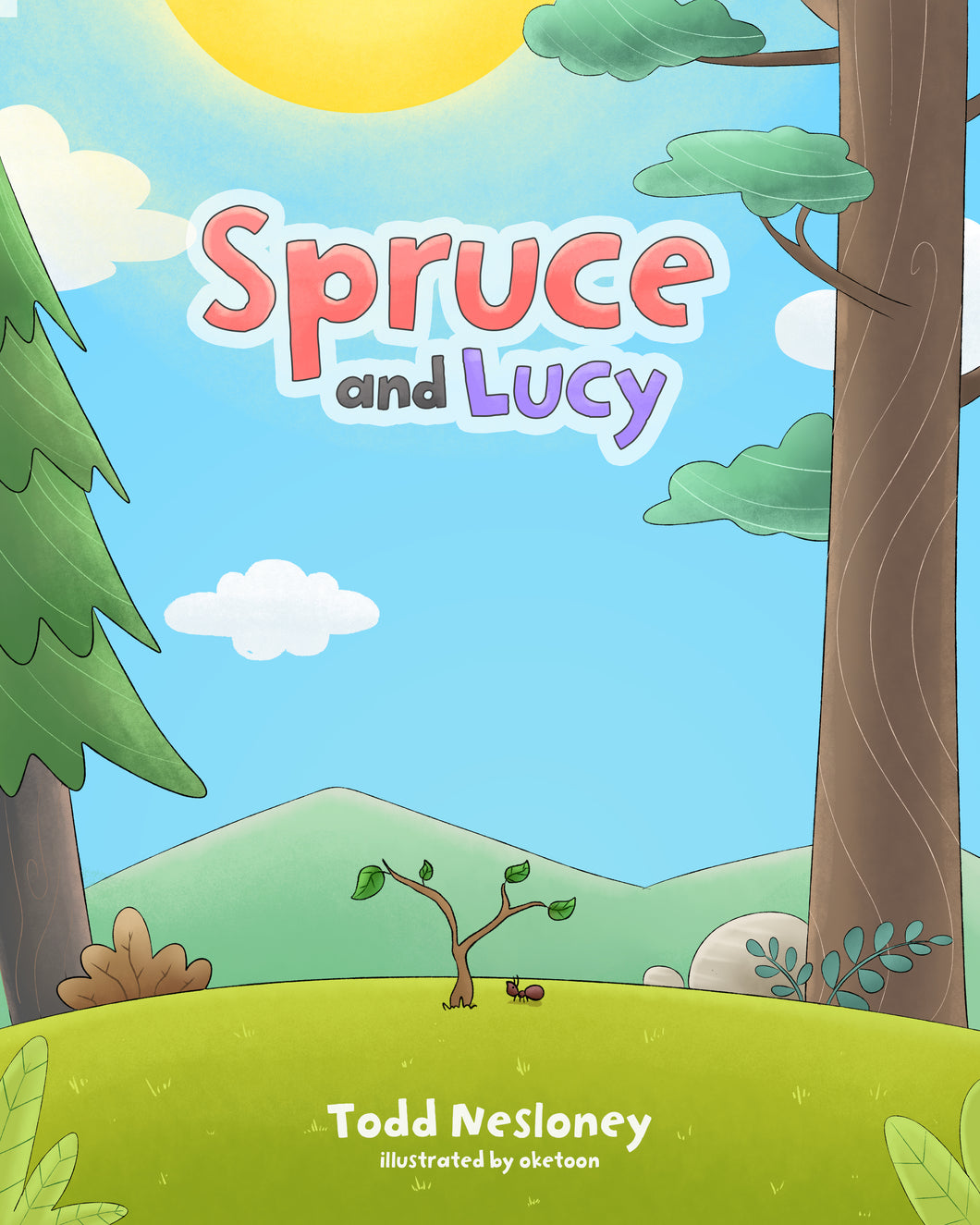 Spruce & Lucy Book - Autographed