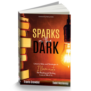 Sparks in the Dark Book - Autographed