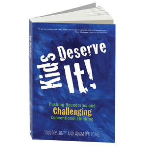 Kids Deserve It Book - Autographed