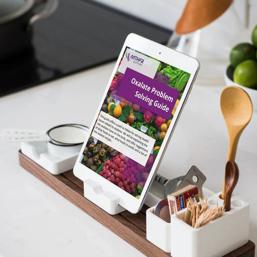 Oxalate solution and recipe E-book