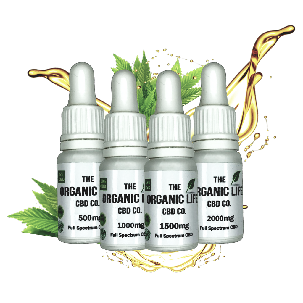 The Organic Life Full Spectrum MCT Tinctures 500mg - 2000mg