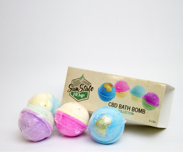CBD Bath Bombs (3 Pack)