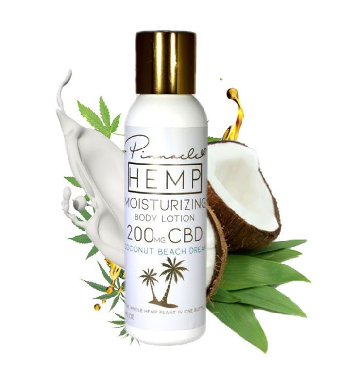 Coconut Body Lotion 200MG - The Dispensary CBD