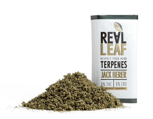 Real Leaf Terpene Infused Smoking Mix (Nicotine Free)