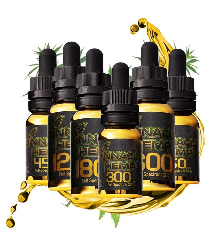 Pinnacle Hemp Full Spectrum Tinctures 150mg-1800mg - The Dispensary CBD