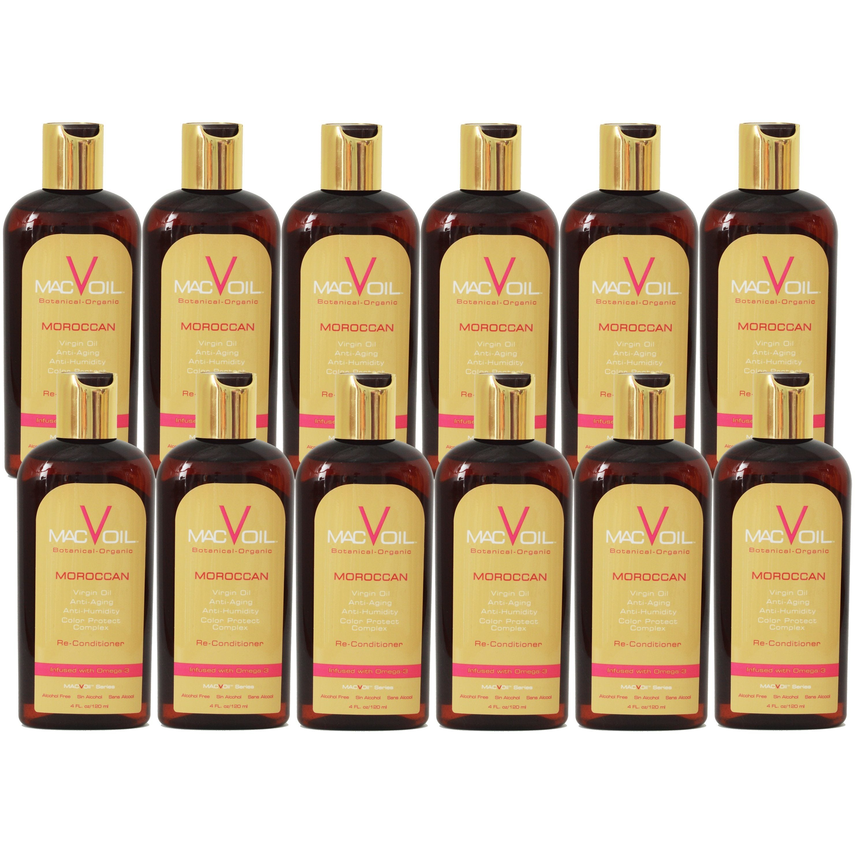 (12) Moroccan Re-Conditioner 4 fl. oz. HAIR STYLING PRODUCTS MACVOIL